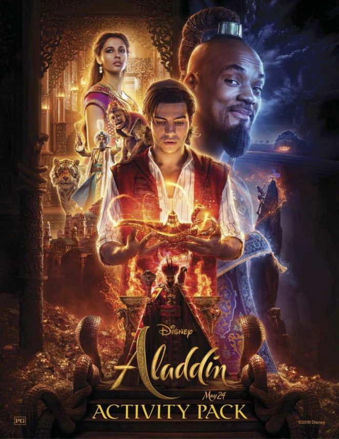 Aladdin Activity Book