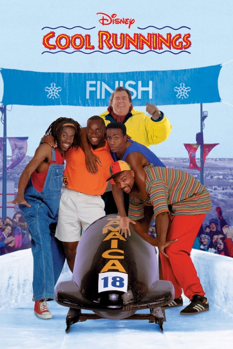 Cool Runnings movie Disney - movies for sports lovers