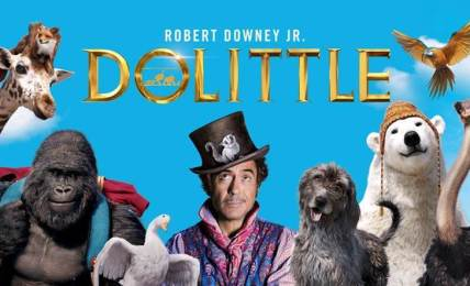 dolittle trailer robert downey jr