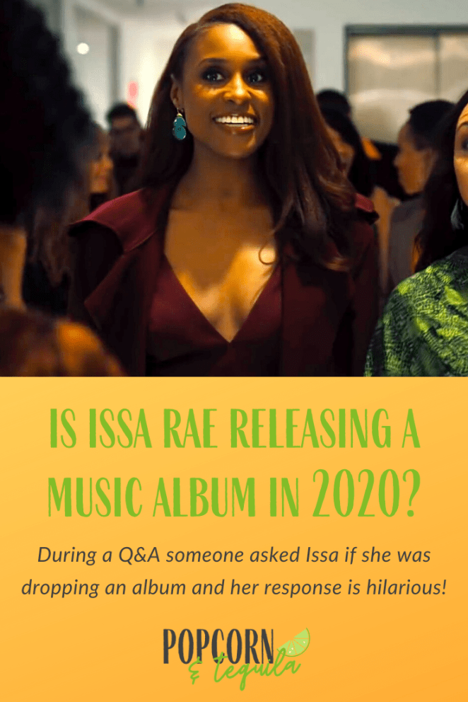 is issa rae releasing a music album in 2020