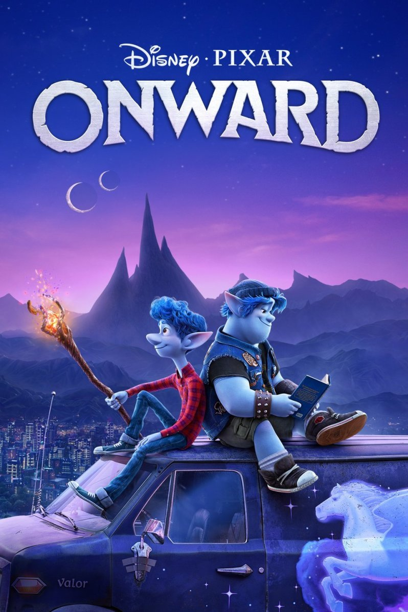 Pixar Onward Movie Postet