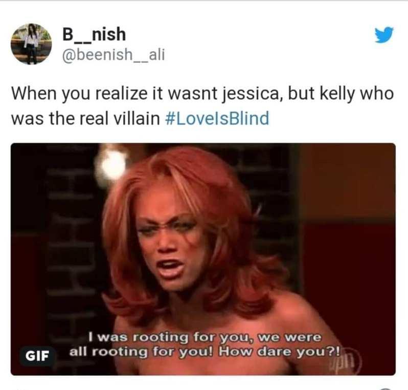 love is blind meme kelly
