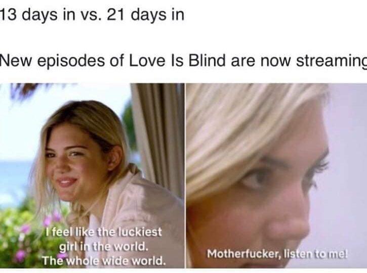 netflix love is blind memes