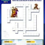 SCOOB Activity Sheets Crossword Puzzle