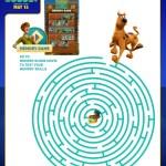 SCOOB Activity Sheets Scoob Maze