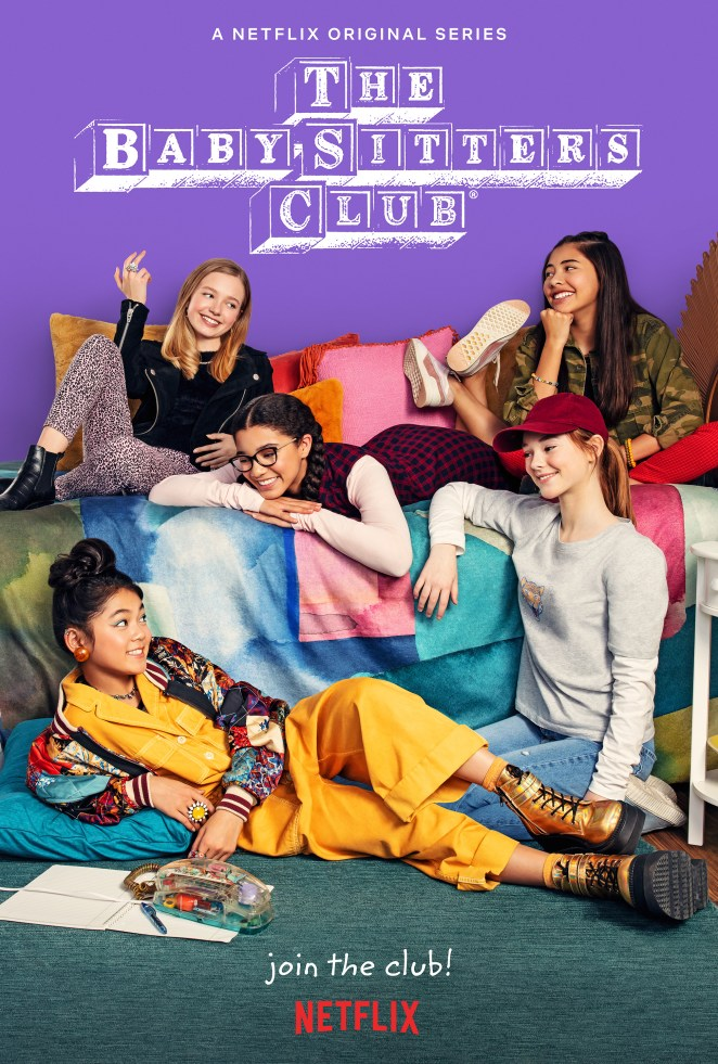 the babysitters club netflix poster