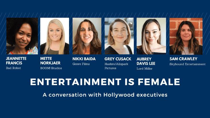entertainment is female comic con panel recap