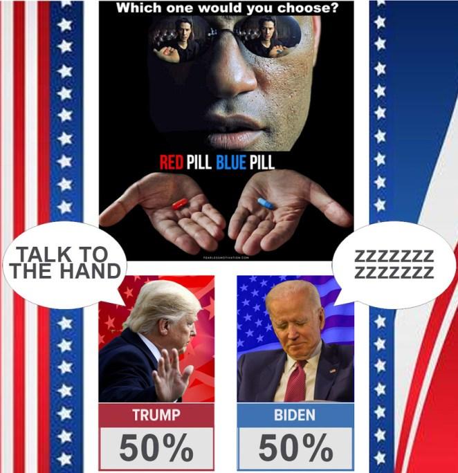 election 2020 memes the matrix