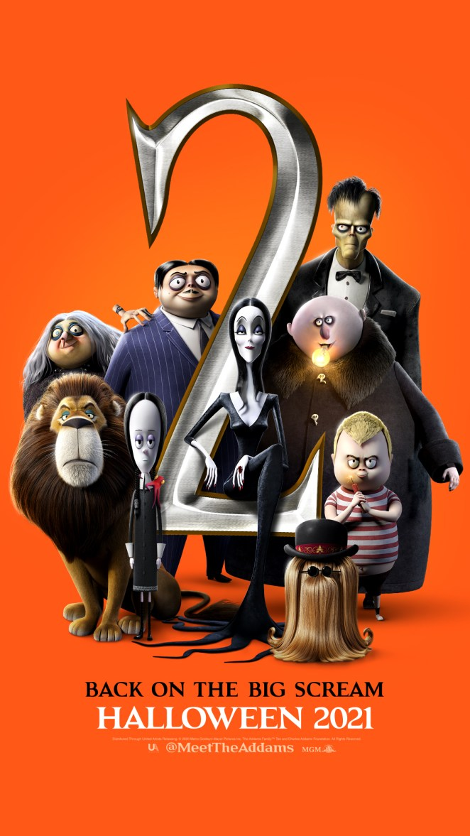 the addams family 2 movie teaser poster