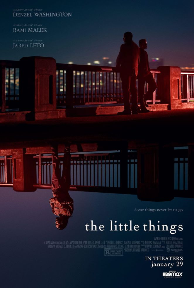 the little things hbo max movie poster