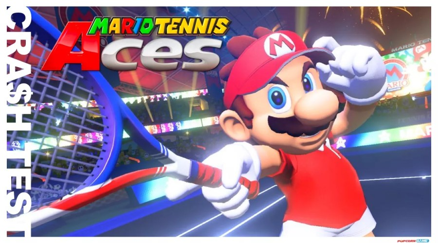 Crash Test Mario Tennis Aces