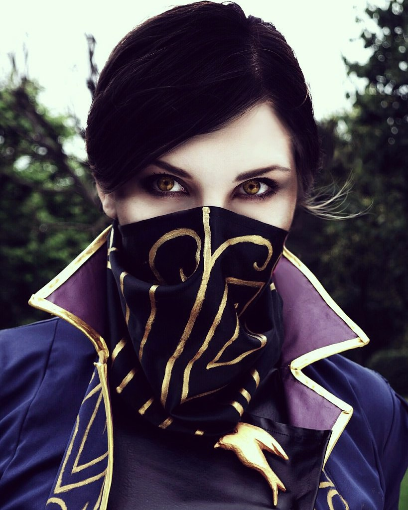 jeux video heros masqués - Dishonored 2 - Emily Kaldwin​ - cosplay