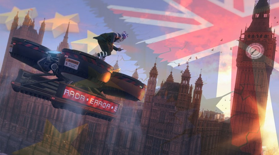 watch dogs legion brexit