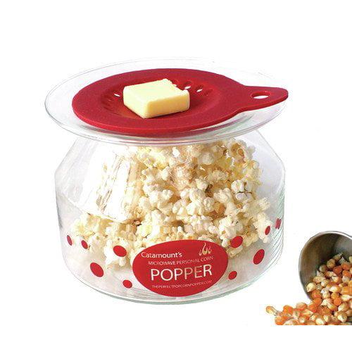 glass microwave popcorn poppers
