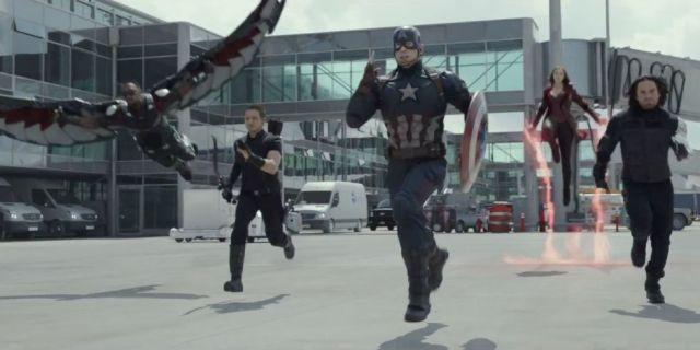 'Captain America: Civil War', Marvel