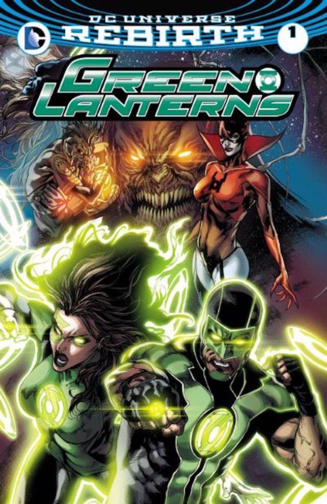 Rebirth: The Green Lanterns #1, DC Comics