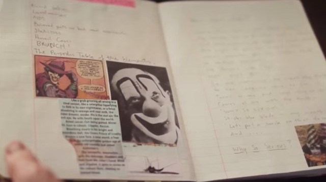 Heath Ledger's Joker Diary