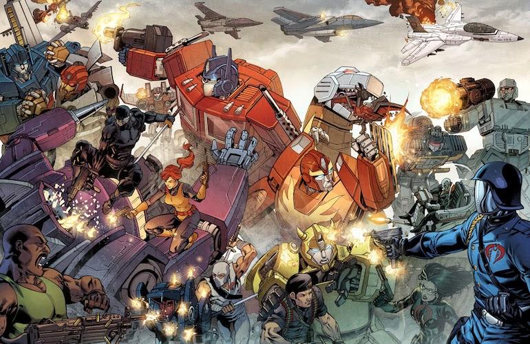 G.I. Joe and Transformers, Marvel Comics