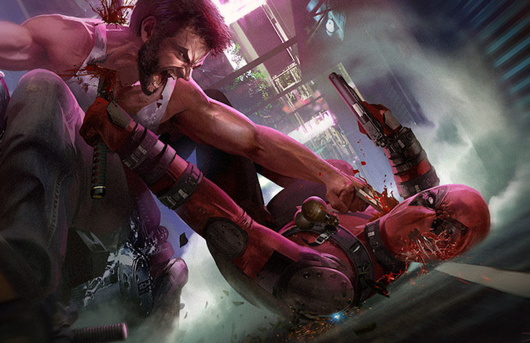 Deadpool v Wolverine, Marvel