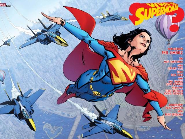 Superwoman Vol. 1: Who Killed Superwoman, DC Comics