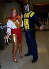 Lady Deathstrike and Magneto