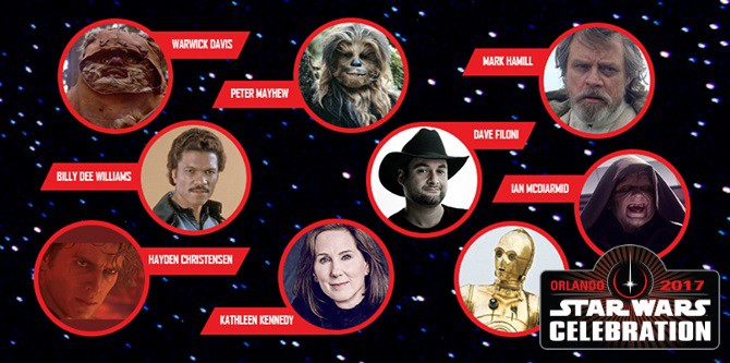 Star Wars Celebration Orlando 2017: The Guests