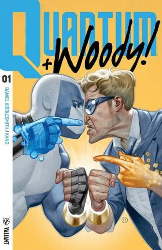 Quantum and Woody! (2017) #1
