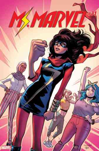 Ms. Marvel #31 - Cover by Valerio Schiti
