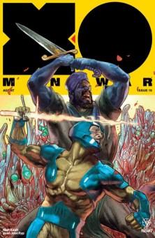 X-O MANOWAR (2017) #19 – Interlocking Variant by Renato Guedes