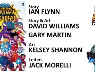 Archie's Superteens vs. Crusaders #2