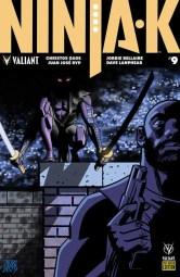 NINJA-K #9 - Pre-Order Edition by Jesse Hamm