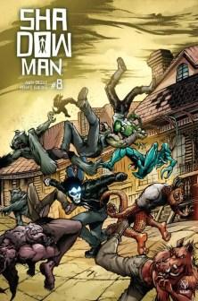 SHADOWMAN (2018) #8 - Interlocking Variant by Ryan Lee