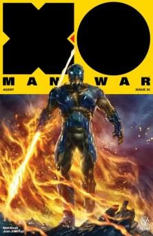 X-O MANOWAR (2017) #20 - Cover B by Alan Quah