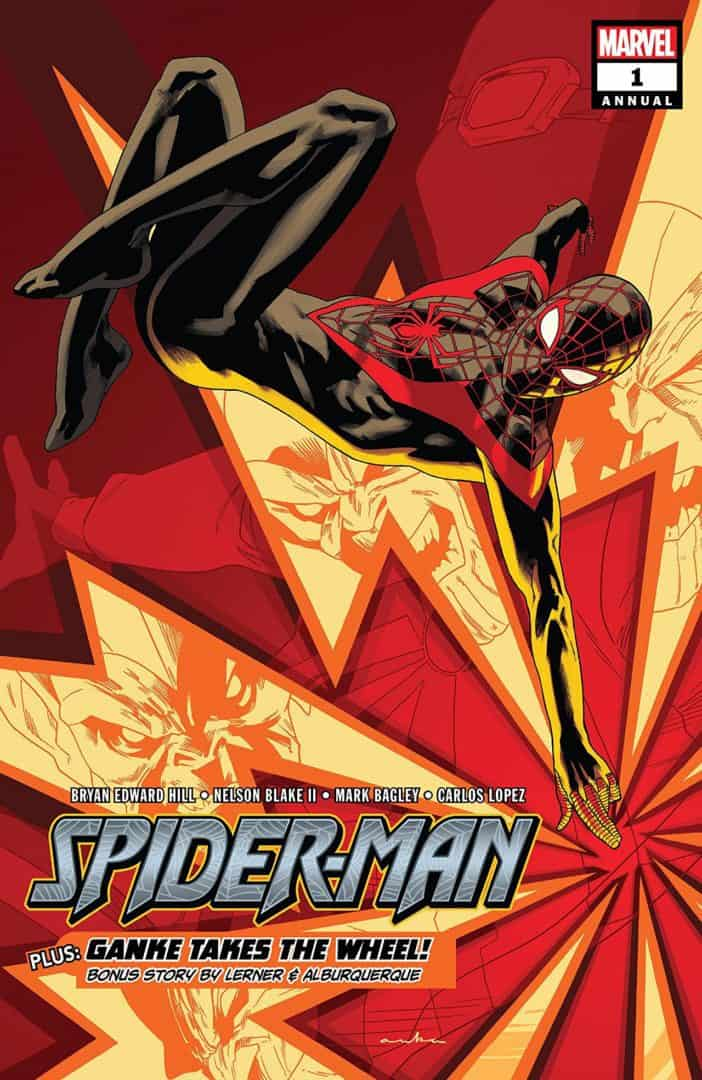 Spider-Man (2016-) Annual #1 cover