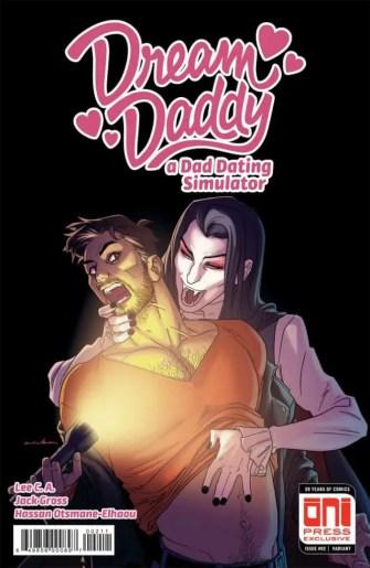 Dream Daddy #2 - Cover by Kris Anka