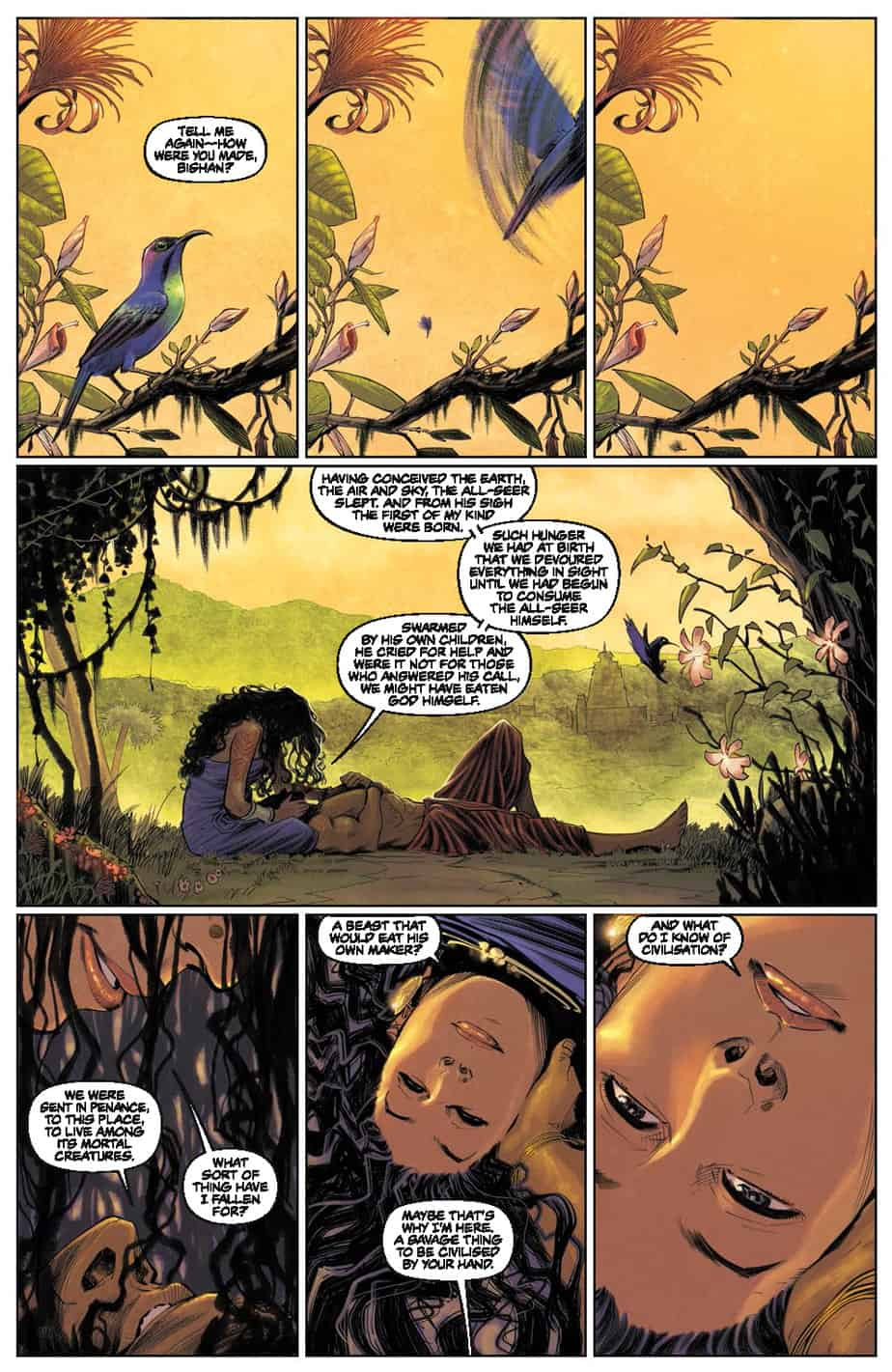 These Savage Shores #1 preview page 1