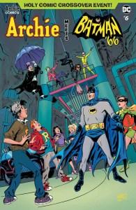 Archie Meets Batman '66 #6 - Variant Cover by Ruben Procopio