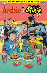 Archie Meets Batman '66 - Variant Cover by Bill Galvan