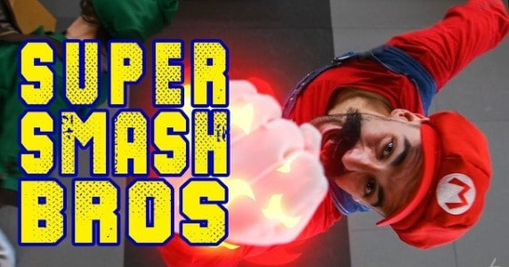 Stuntmen Create Tribute to 'Super Smash Bros'