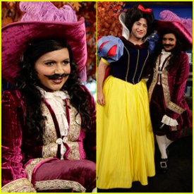 Mindy Kaling is delightful. So is Jimmy Kimmel. I know that Disney does own ABC, Kimmel's parent network, but I'm still liking their gender-bent Disney pride.