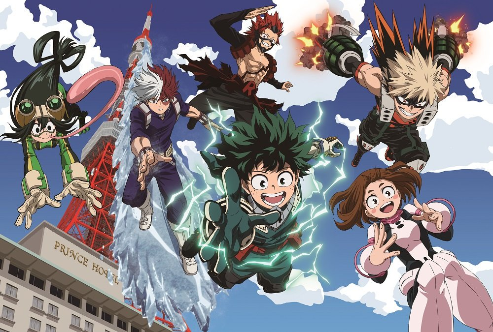 My Hero Academia Heroes Rising Review National Lampoon S Anime Vacation Pop Culture Bento