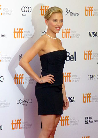 Scarlett Johansson at Don Jon premiere