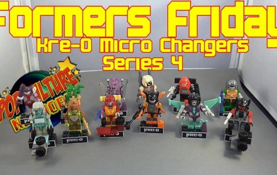Formers Friday - Transformers Kre-O Microchangers Series 4