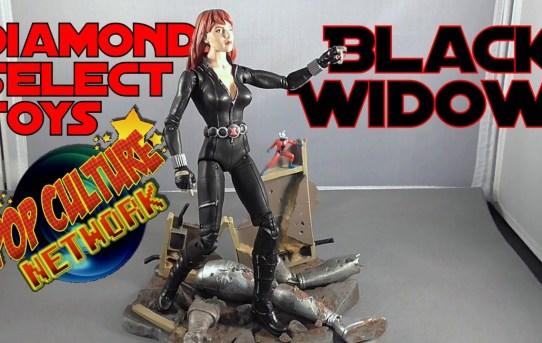 Diamond Select Black Widow Figure Review