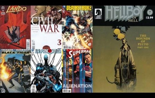 DiRT's Vine Comic Reviews for Aug 26, 2015