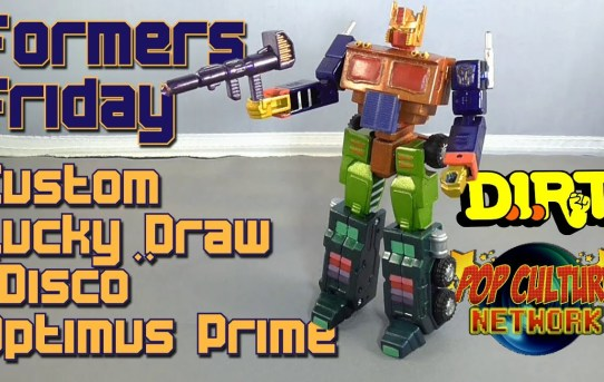 "Formers Friday - Custom Lucky Draw ""Disco"" Optimus Prime"