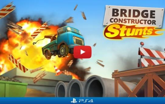 "Explosive ""Bridge Constructor Stunts"" Smashing Onto PS4 Soon"