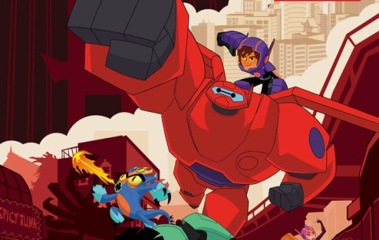 Big Hero 6 Comics Coming from IDW this Summer