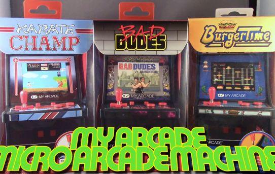 Data East My Arcade Micro Game Machines