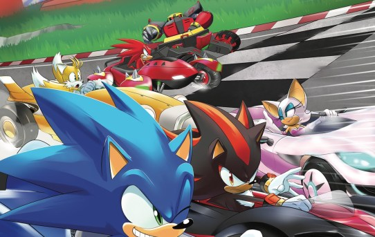 TEAM SONIC RACING Comic Book Drifts Into Your Local Comic Shop in October